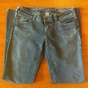 Silver Jeans Aiko Size 34 (I)